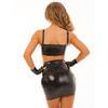 Rubber Girl Latex Mini Skirt