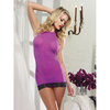 Dreamgirl Pink Diamond See Through Halter Neck Chemise
