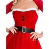Fever Sexy Santa Dress with Hat and Shrug
