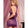 Seven Til Midnight Racer Back Dress and G-String Set