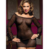 Seven Til Midnight Plus Size Secret Affair Lace Dress