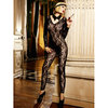 Baci Lingerie Footless Lace Bodystocking