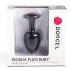 Marc Dorcel Geisha Ball Silicone Medium Butt Plug with Crystal