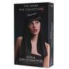 Fever Alexia 19 Inch Long Black Blunt Cut Wig with Fringe
