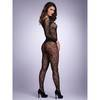 Lovehoney Black Long-Sleeved Lace Bodystocking