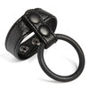 Macho Supreme Stamina Faux Leather Double Cock Ring