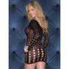 Glitter Sweet Spots Long Sleeve Seamless Mini Dress