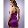 Lovehoney Spoil Me Satin Babydoll Set Plum