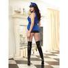Dreamgirl Plus Size Book 'Em Baby Sexy Cop Outfit