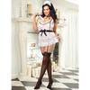 Dreamgirl Plus Size 5pc Maid to Tease Maid Outfit