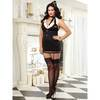 Dreamgirl Plus Size 4pc Mile High Hottie Flight Attendant Costume