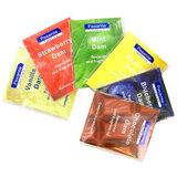 Pasante Mix Flavoured Latex Dental Dams (6 Pack)