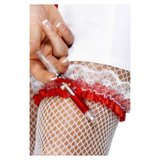 Nurse Costume Garter with Injection Pen
