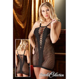 Cottelli Fence Net Fishnet Mini Dress