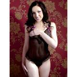 Cottelli Peephole Sheer Crotchless Body