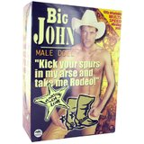 Big John Vibrating Male Blow-Up Doll
