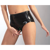 Late X Collection Latex Vagina Shorts