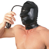 Inflatable Depravation Latex Pump Hood