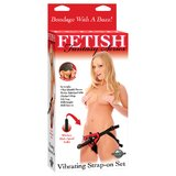 Fetish Fantasy Vibrating Strap-On Set