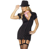 Fever Criminal Gangster Lady Costume