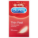 Durex Thin Feel Condoms (12 Pack)