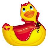 I Rub My Devil Duckie Waterproof Massager Vibrator