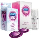 Durex Play O and 2 in 1 Massage Melts Twin Pack