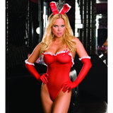 Dreamgirl Red Diamond Love Bunny Set