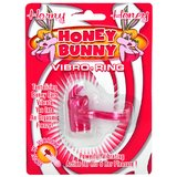 Honey Bunny Vibrating Cock Ring