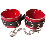 Bondage Boutique Advanced Leather Ankle Cuff Restraints