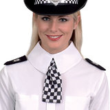 Police Woman Scarf with Epaulettes