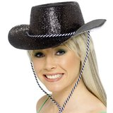 Cowboy Glitter Hen Night Hat
