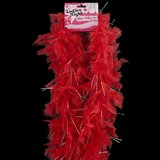 Ladies Night 1.5 Metre Glitter Feather Boa