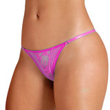 Sensualle Fogosa Mesh and Lace Thong