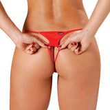 Sensualle Rapidinha Scrunch Back Embroidered Thong