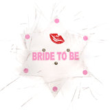 Flashing Bride To Be Star Hen Night Badge