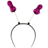 Willy Pink Glitter Boppers