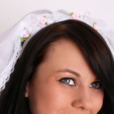 Hen Night Bride's Veil