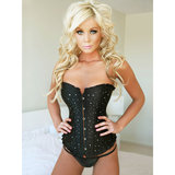 Sweet Streak Simple Radiance Diamante Corset Style bustier Set
