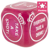 Flashing Hen Night Dice