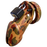 CB-6000 Designer Male Chastity Kit Camo Finish