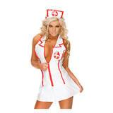Sweet Streak Sexy Vinyl Nurse Costume