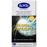 EXS Black Fantasy Coloured Condoms (6 Pack)