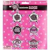 Sheriff Hen Night Badges (6 Pack)