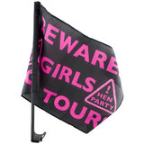 Beware Girls On Tour Car Flag
