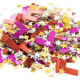 Hen Night L Plate and Star Confetti