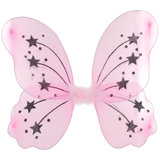 Fancy Dress Pink Fairy Wings
