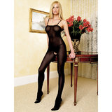 Leg Avenue Spaghetti Strap Opaque Bodystocking