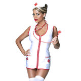 Exposed Hot Sexy Nurse Costume