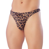 Classified Men's Leopard Print Thong